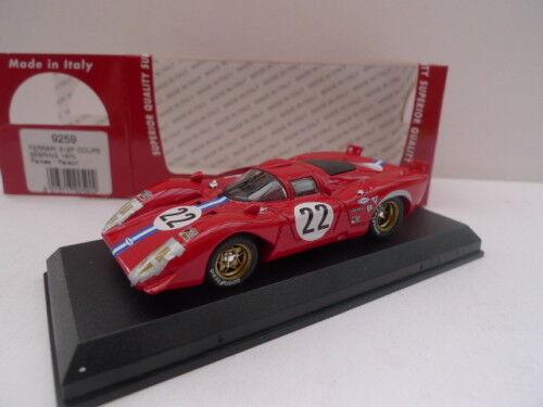 MODEL BEST 9259 - FERRARI 312 P COUPE SEBRING 1970 N°22