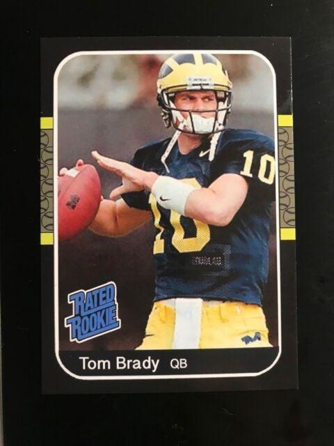 50 Card LOT - Tom Brady Rated Rookie Very Rare -