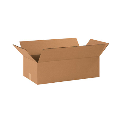 50 12x6x4 Cardboard Shipping Boxes Cartons Packing Moving Mailing Box