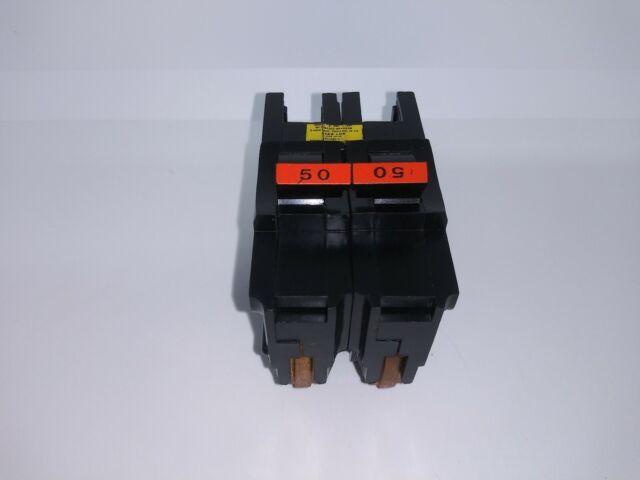 FPE 50A NA250 2 Pole 120//240V Stab Lok Type NA Thick 50 Amps