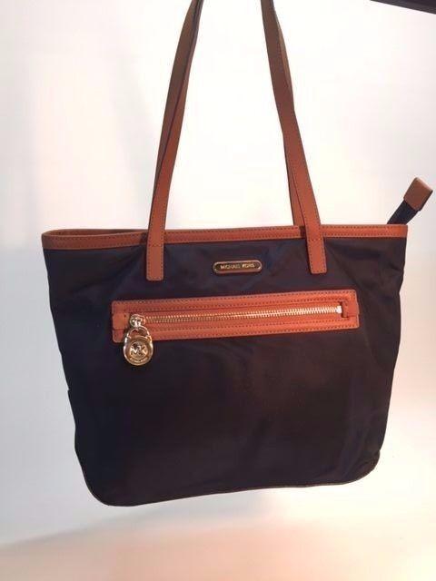 c62cf3afc957 Michael Kors Kempton Nylon Medium Pocket Tote Bag Navy 30s5gkpt1c # 1337  for sale online | eBay