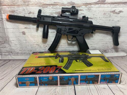 TD-2007 Enfants Jouet Assaut Militaire Fusil Gun avec feux Clignotant Sonore Vibration