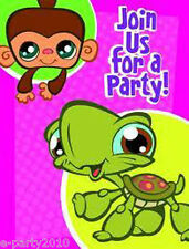 LITTLEST PET SHOP INVITATIONS AND THANK YOU NOTES (8) ~ Birthday Party Supplies