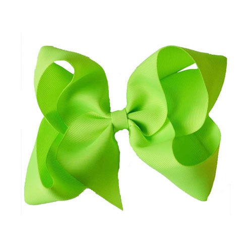 """4.5/"""" Large Bow Hair Alligator inch knot Clips Girls Ribbon Bows Kids Accessories"""