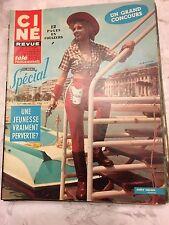 Ciné Revue N°17 du 22 avril 1967 / Anny Nelsen - Maurice Ronet