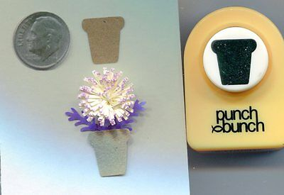 Small Flower Pot Paper Punch-Quilling-Cardmaking-Scrap