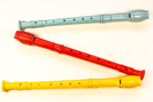 12x Flöte Kinderflöte Blockflöte Musikinstrument für Kinder Kunststofflöte