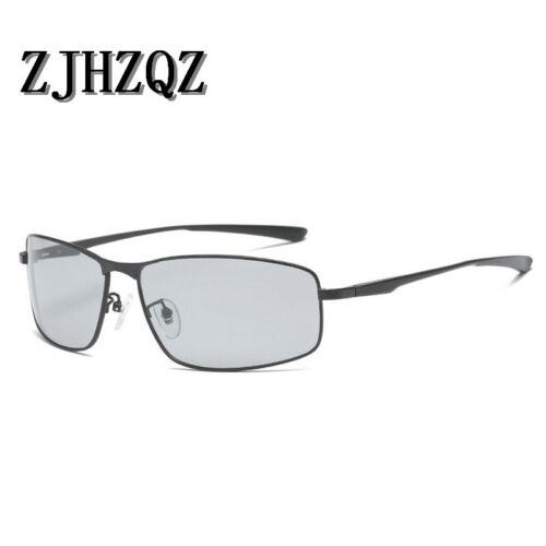 Photochromic Polarized Sunglasses Driving Outdoor Sport Transition Chameleon Len