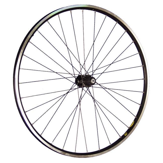 Taylor Wheels 28 pollici ruota posteriore bici A319 mozzo disco disco disco Deore XT nero 874d29