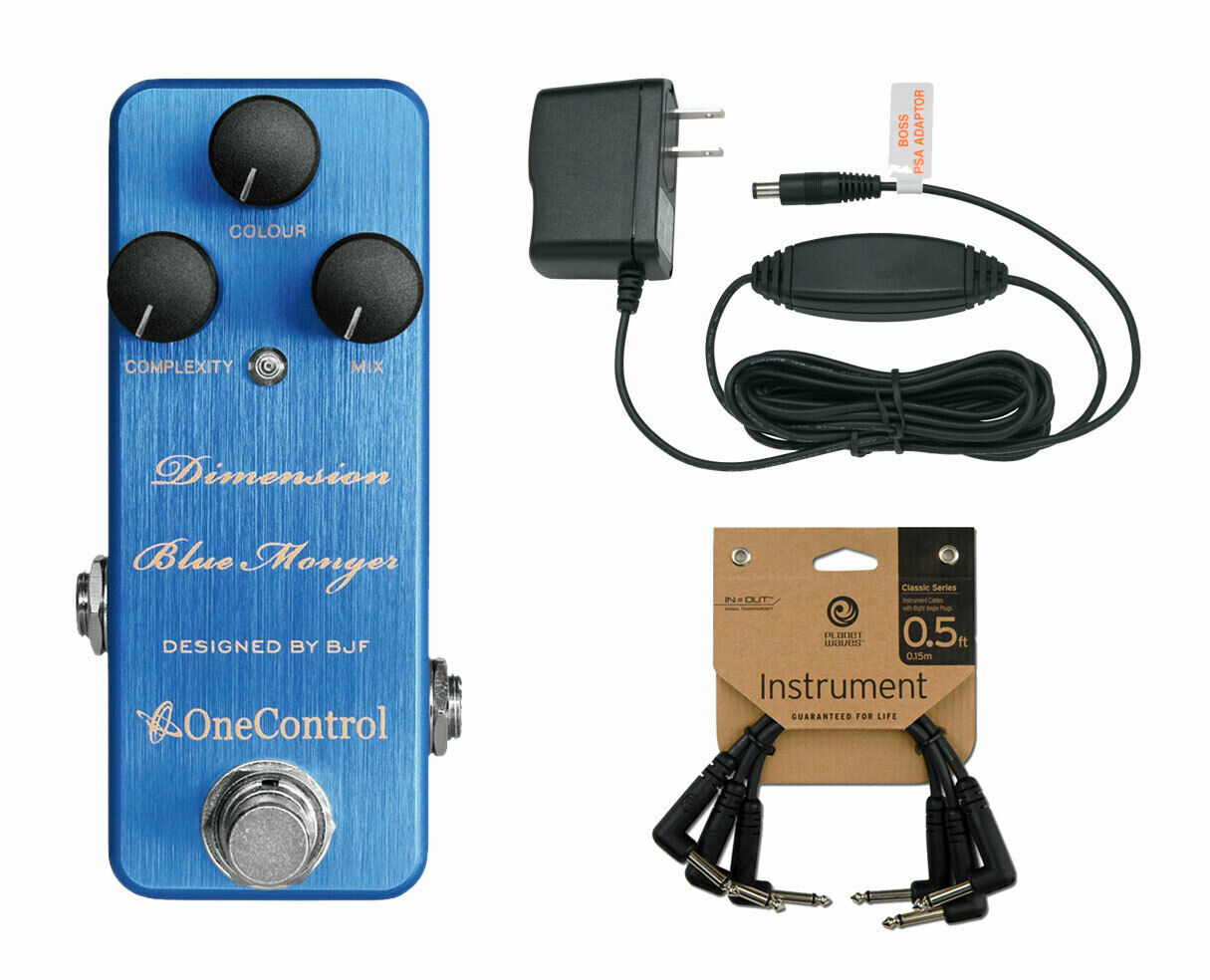 One Control Dimension Blau Modulation Power Supply Patch Cables (3-Pack)