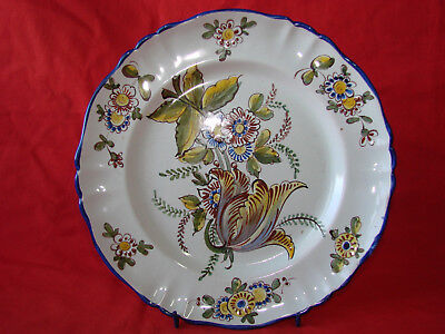 OfficiëLe Website Assiette Décorative Faïence Saint Clement Est - Ceramique - Vintage French Plate Helder En Doorschijnend Qua Uiterlijk