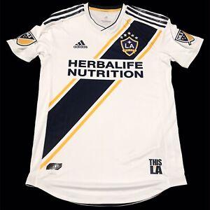 $120 Adidas MLS la Galaxy auténtico Home Jersey talla mediana ...