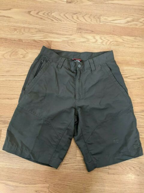 THE NORTH FACE Casual Shorts Men's Waist 32 Burnt Olive Green