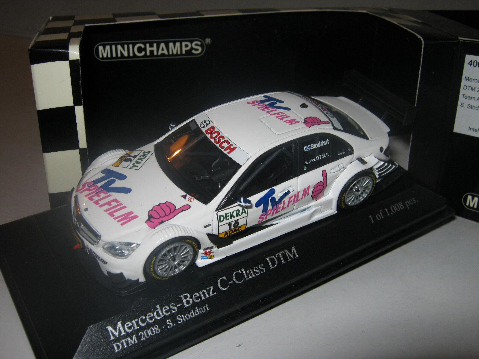 1 43 43 43 Mercedes C-Class DTM S.Stoddart 2008 MINICHAMPS 400083716 OVP new 1 of 1008  | Einzigartig  3b3f2e