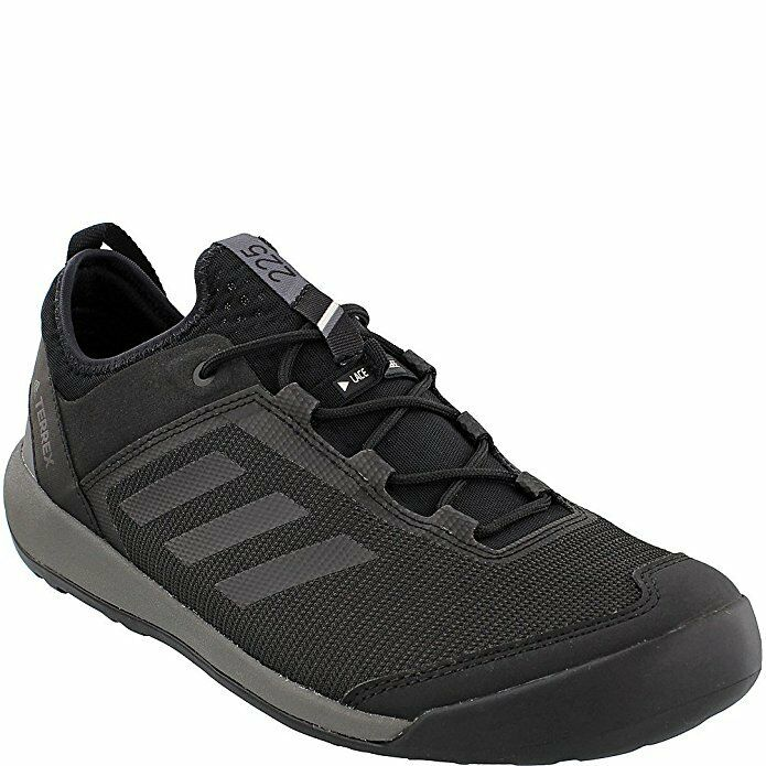 Adidas Terrex Men's Terrex Swift Solo - Utility Black Black Grey Four - 9