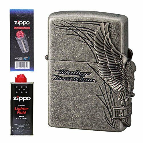 Zippo Jipporaita Halle Davidson Hdp-65 Oil With Flint From  Japan  fast shipping to you
