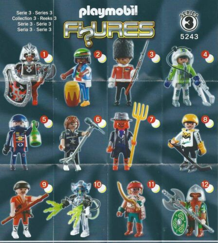 PLAYMOBIL 5243 PERSONAGGI FIGURES SERIE 3 Boys-come nuovo