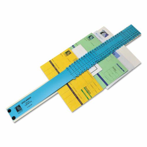 Quaker Sorter A-Z//1-31//Jan-Dec//Sun-Sat//0-30 000 Index Letter Size Plastic Blue