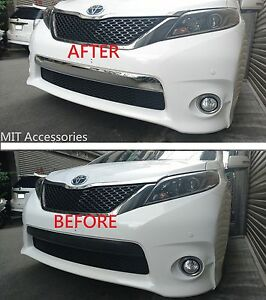 Image Is Loading Toyota Sienna 2017 Front Per License Cover