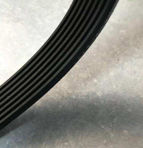 Cinghia di Trasmissione Si Adatta A QUALCAST Hover Falciatrice Con Cintura 5PJ490 parte di ricambio E33