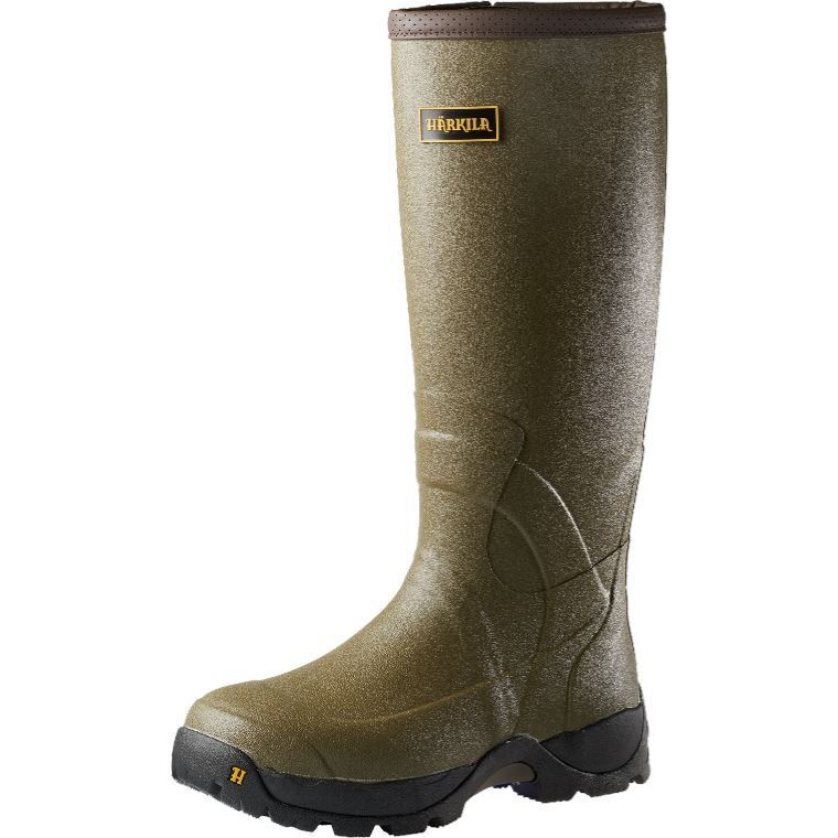 Harkila Norse 18  3mm H-vent Dark Olive Wellington Boots (Hunting) Top Brand