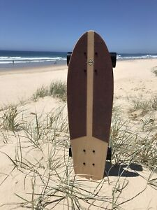 Custom-Adults-27-Inch-Handmade-Cruiser-Deck-Skateboard-Skate-Surf-Active-Board