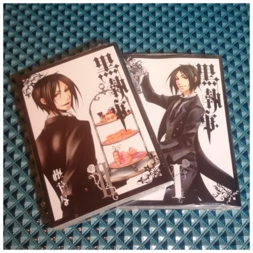 Kuroshitsuji Black Butler Comic Manga vol.1-2 Original Bookmark Ciel Bonus