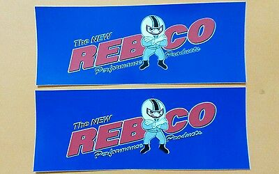 "2 pcs RAYBESTOS OFFICIAL THE BEST IN BRAKES RACING DECALS STICKERS size 8/"" X 4/"""