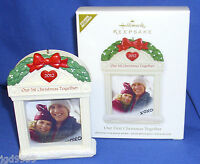 Hallmark Photo Holder Ornament Our First Christmas Together 2012 Personalize It