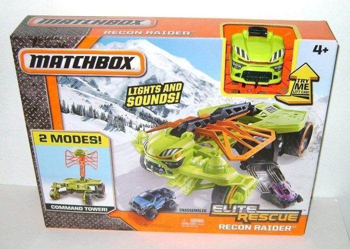 Matchbox Elite Rescue Recon Raider Vehicle