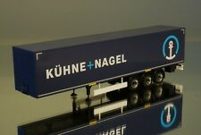 """Herpa 306591 solo Krone Kofferauflieger """"K+N Kühne Nagel"""""""