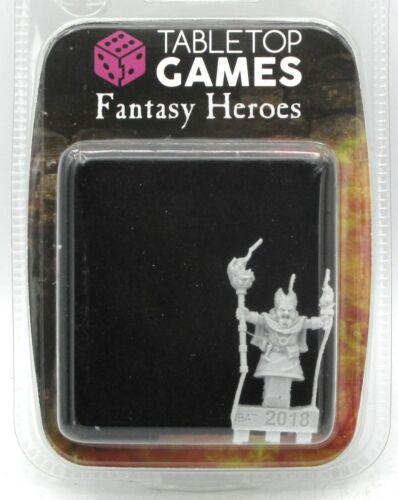 Mage Sorcerer Fantasy Heroes Details about  /TTCombat TTFHR-HLF-011 Halfling Fire Wizard