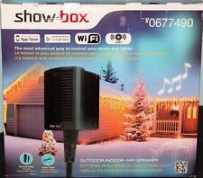 Show Box Holiday Light & Sound Controller  App Controlled WiFi Speaker Outdoor
