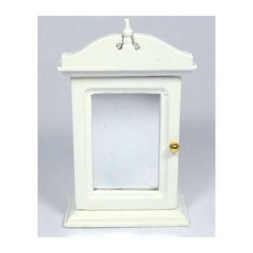 # Creal 30671 Placard Armoire à Miroir Bois Blanc 1:12 pour maison de poupée NOUVEAU