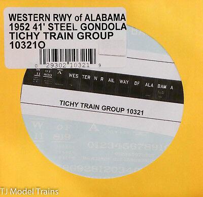 Tichy Train Group O #10182O Union Pacific GS Gondola 41/' Steel Side Decal