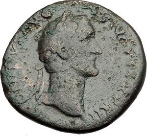 Antoninus-Pius-151AD-Rome-Sestertius-Original-Ancient-Roman-Coin-AEQUITAS-i65127
