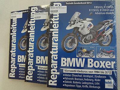 R 1100 GS R 850 GS Reparaturanleitungen BMW Boxer  Vierventil-Enduros von 1994 bis 2012 R 1200 GS R 1150 GS
