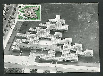 Briefmarken Motive Gut Ausgebildete Niederlande Mk 1969 Architektur Bauhaus Maximumkarte Maximum Card Mc Cm D3163 Senility VerzöGern
