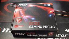 MSI Gaming Intel Skylake B150 LGA 1151 DDR4 USB 3.1 Mini ITX B150I Gaming Pro AC