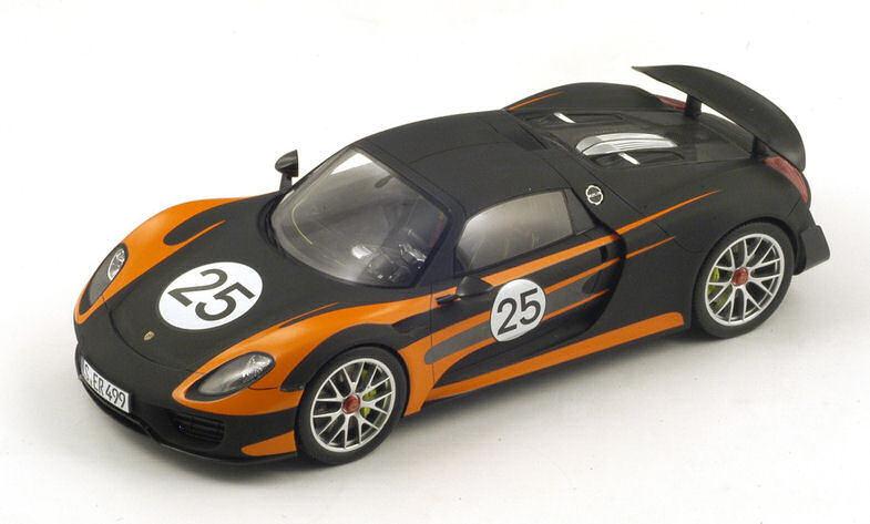 Porsche 918 Spyder Spyder Spyder  25 Weissach 1 18 modello SPARK modello e5ce14