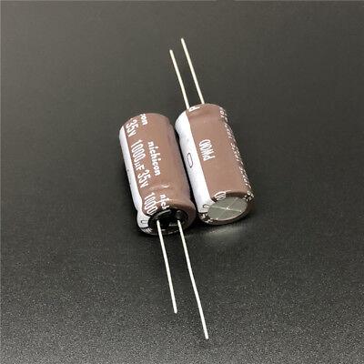 5//50pcs 1000uF 35V1000UF 12.5x20 Nichicon PA Low Impedance Miniature Capacitor