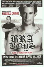 BRA BOYS Movie POSTER 27x40 Russell Crowe Kelly Slater Cheyne Horan Jack