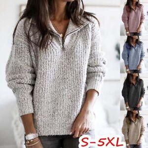 Coat-Warm-Sweater-Winter-Long-Sleeve-Pullover-Sweatshirt-Women-Tops-Jumper-Knit