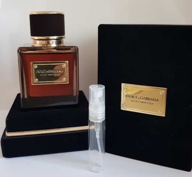 3267ae94665f7a Dolce   Gabbana Velvet Amber Sun Pour Homme Eau De Parfum 5ml Sample ...