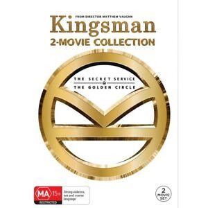 2 Movie Pack: Kingsman The Secret Service/Kingsman The Golden Circle DVD