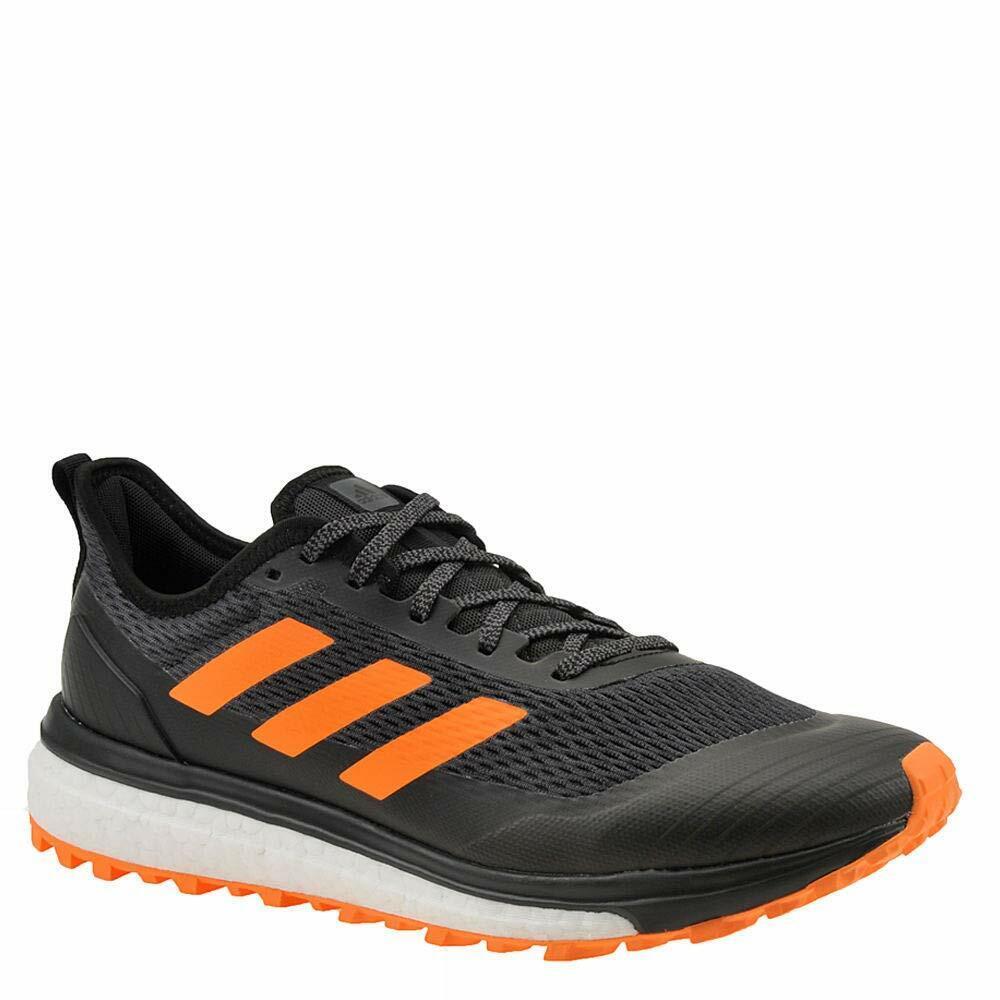 Adidas Outdoor Response Trail Black orange Hi-Res bluee Men's Trail Running shoes