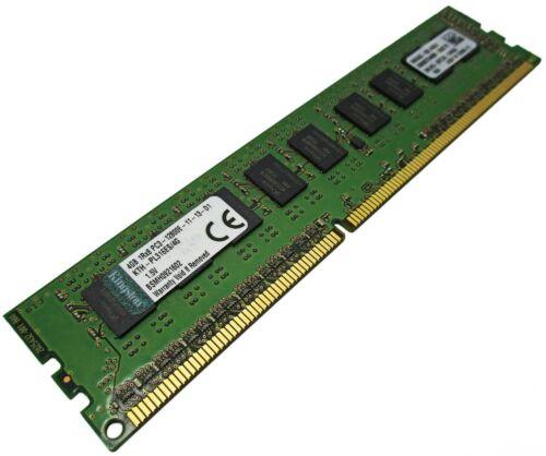 Kingston 4GB 1Rx8 PC3-12800E DDR3-1600MHz KTH-PL316ES//4G