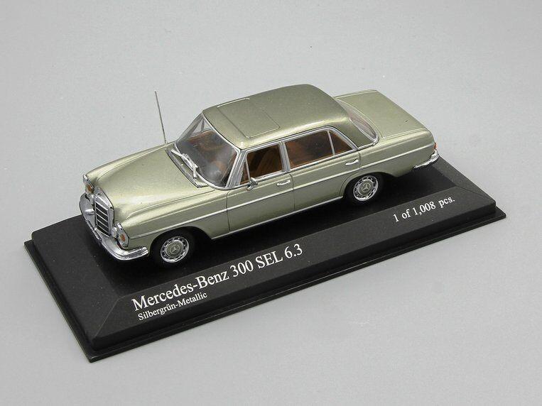 Minichamps 1 43 Mercedes 300 Sel 6.3 (W109) (W109) (W109) 1968 verde Brillante dc5c73