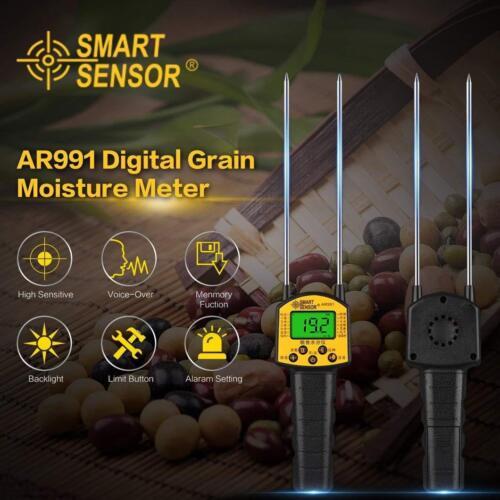AR991 Grain Moisture Meter,Corn,Wheat,Rice,Bean,Wheat Flour fodder