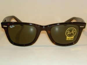 8a9ac03b8 New RAY BAN Original WAYFARER Sunglasses RB 2140 902 Brown Frame ...